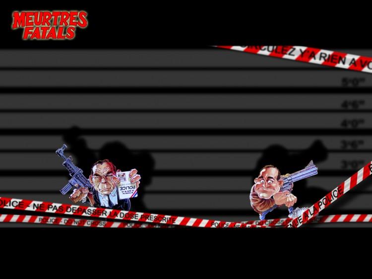 Fonds d'écran Humour Bandes dessinées Meurtres fatals graves