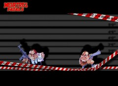 Fonds d'écran Humour Meurtres fatals graves