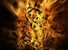 Wallpapers Digital Art burning angel