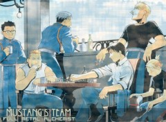 Fonds d'écran Manga Mustang's team