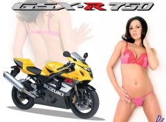 Wallpapers Motorbikes GSX-Girl