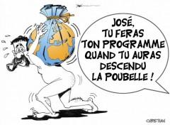 Fonds d'écran Art - Crayon José Bové candidat ...