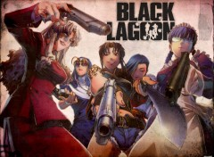 Fonds d'écran Manga Black Lagoon - 01