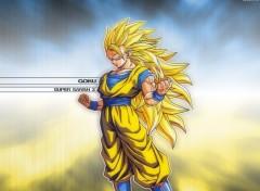 Fonds d'écran Manga goku ssj 3