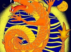 Wallpapers Digital Art dragon chinois