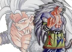 Fonds d'écran Manga goku ssj 7