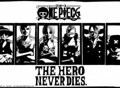 Fonds d'écran Manga Ruthay One piece Hero Never Dies