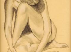 Wallpapers Art - Pencil Nu