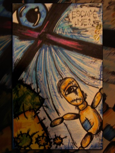 Fonds d'écran Art - Crayon Illustrations Escape Me.