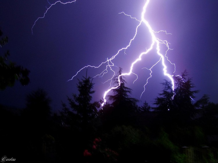 Wallpapers Nature Lightning Un coup de foudre ^^