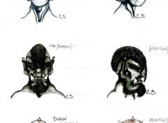Fonds d'écran Art - Crayon Protoss/Orc/Ikaran
