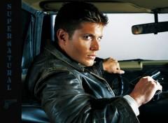 Fonds d'écran Séries TV Dean in the car