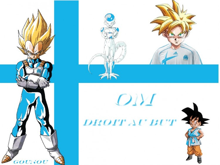 Wallpapers Sports - Leisures OM OM droit au but