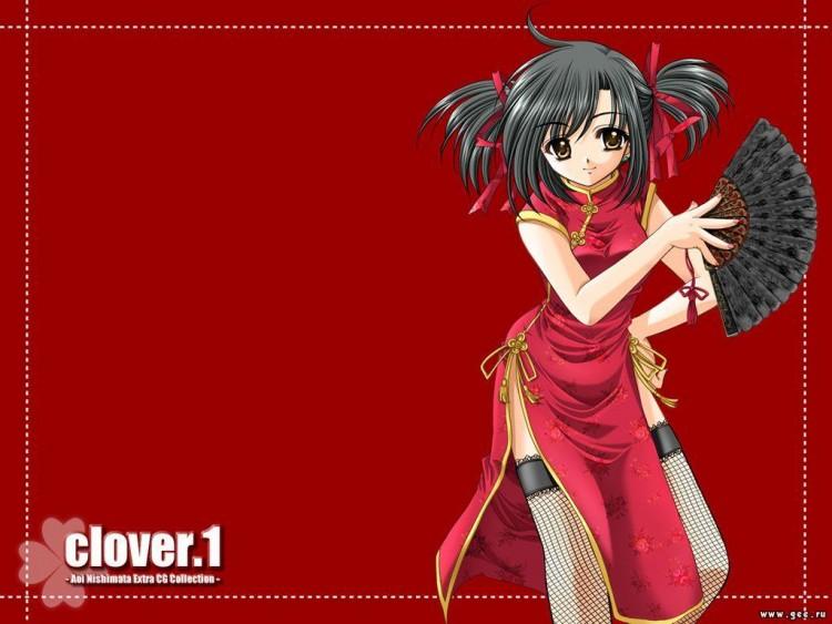 Fonds d'écran Manga Clover zed_mangaS3t