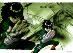 Fonds d'écran Manga Rock Lee