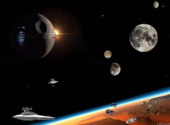 Wallpapers Space l'empire des siths