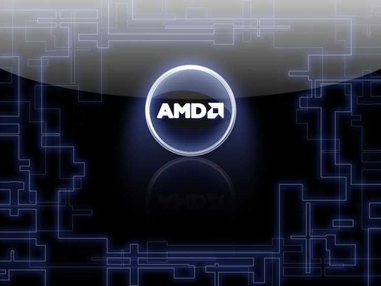 Wallpapers AMD AMD Logo Aqua by mantec