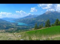 Fonds d'écran Nature Lac de Serre-Ponçon (05)