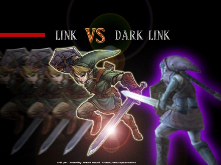 dark link wallpaper
