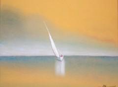 Fonds d'écran Art - Crayon Marine (ou seul au monde)