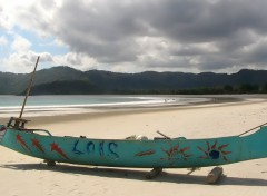 Fonds d'écran Bateaux fishing village lombok