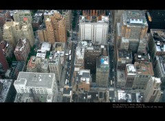 Wallpapers Trips : North America Vue de l'Empire State Building