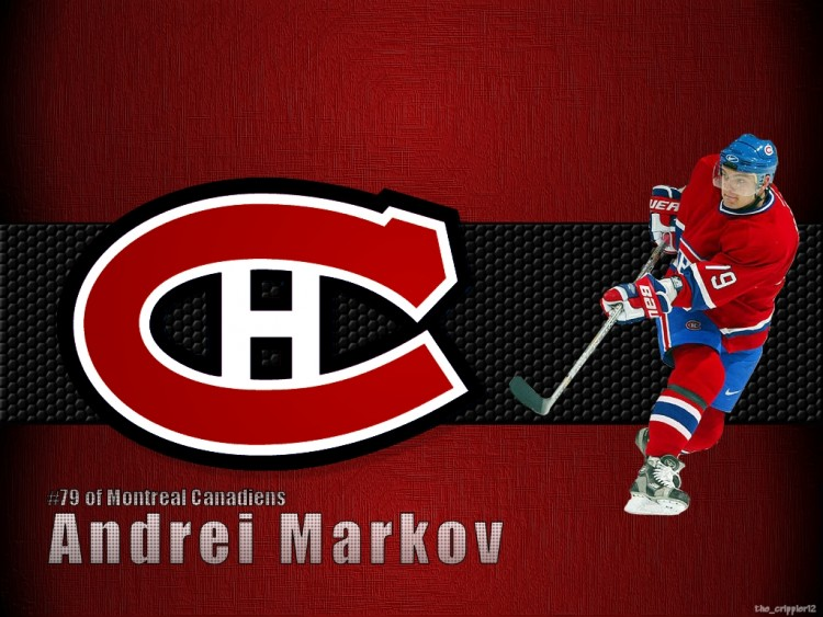 Wallpapers Sports - Leisures Hockey Andrei Markov du Canadiens de Montréal