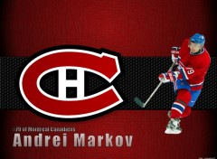 Wallpapers Sports - Leisures Andrei Markov du Canadiens de Montréal