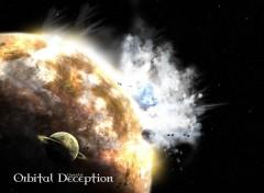 Fonds d'écran Art - Numérique Orbital Deception