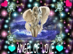 Wallpapers Fantasy and Science Fiction l'ange de l'amour