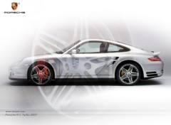 Fonds d'écran Voitures Porsche 911 Turbo (2007) Wallpaper by bewall