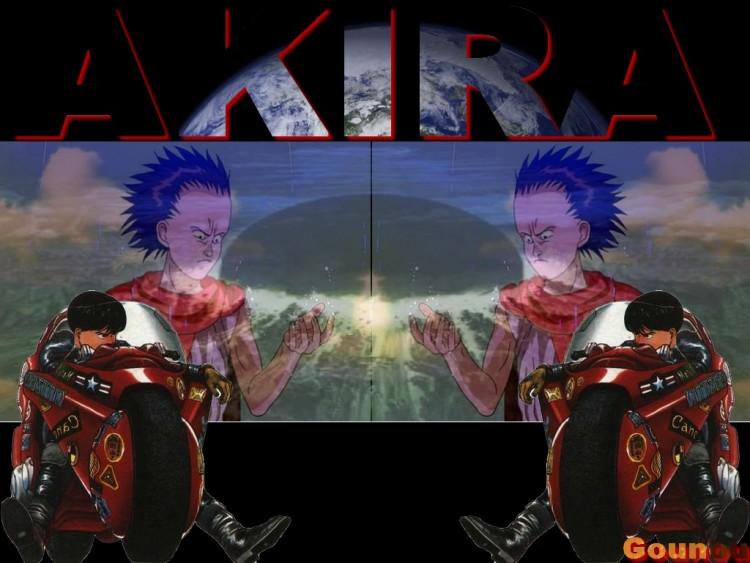 Fonds d'écran Manga Akira Testsuo vs Kaneda