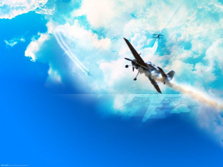 Fonds d'écran Avions Meetings aériens Sky Generator Airlines