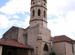 Fonds d'écran Constructions et architecture Le Mas d'azil - L'église