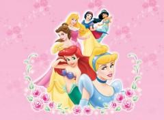 Fonds d'écran Dessins Animés princesses