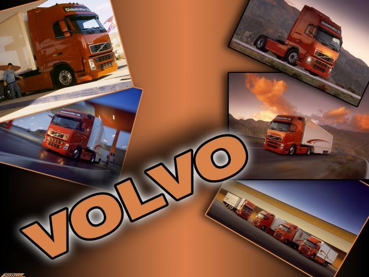 Wallpapers Various transports Trucks volvo globtrotter