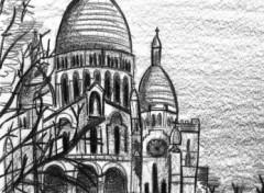 Fonds d'écran Art - Crayon Montmartre, Paris