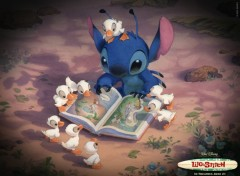Fonds d'écran Dessins Animés Lilo et Stitch