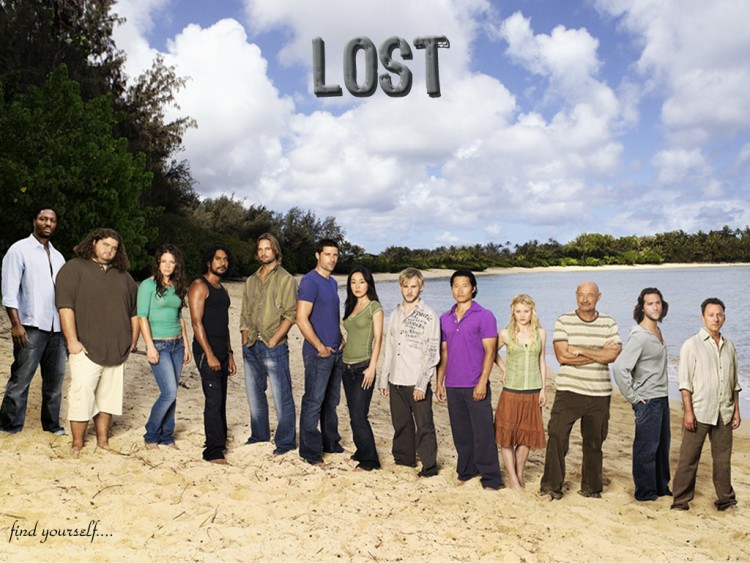 Fonds d'écran Séries TV Lost, les Disparus Lost cast s3