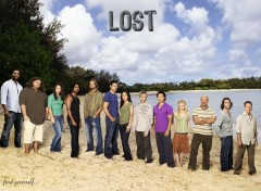 Fonds d'écran Séries TV Lost cast s3