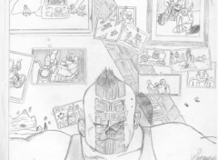 Wallpapers Art - Pencil akira