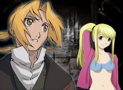 Fonds d'écran Manga Ed et Wenry