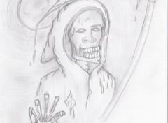 Fonds d'écran Art - Crayon Time Of Death