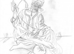 Fonds d'écran Art - Crayon Chykhe