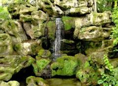 Fonds d'écran Nature Cascade Montsouris