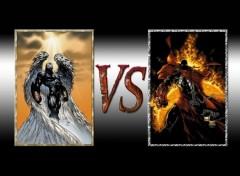 Fonds d'écran Comics et BDs versus