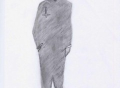 Fonds d'écran Art - Crayon Hitman devil