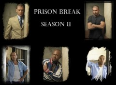 Fonds d'écran Séries TV Prison Break Saison II