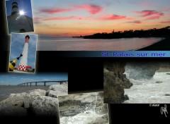 Fonds d'écran Voyages : Europe Composition St-Palais sur mer, Charente Maritime