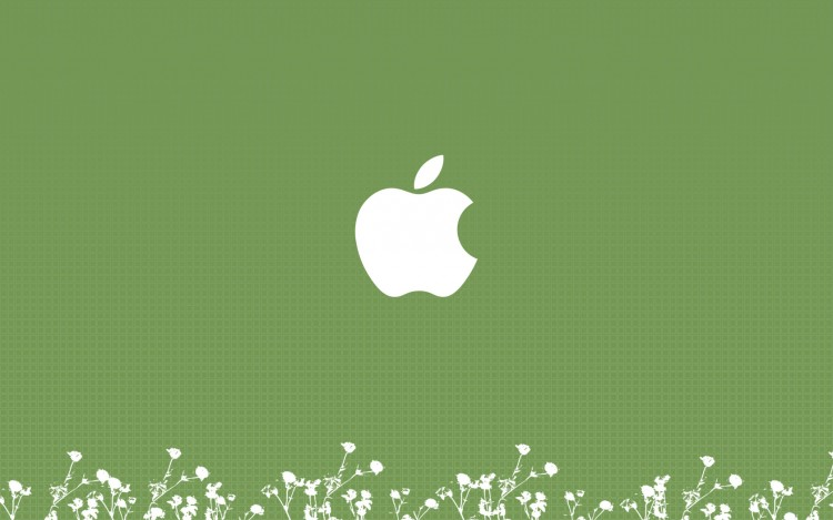 Fonds d'écran Informatique Apple Green